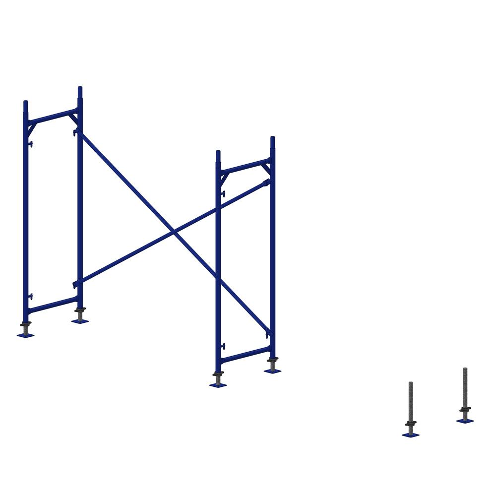 Classical H Type Facade Scaffold Gas Welding Diagram Yapeksan